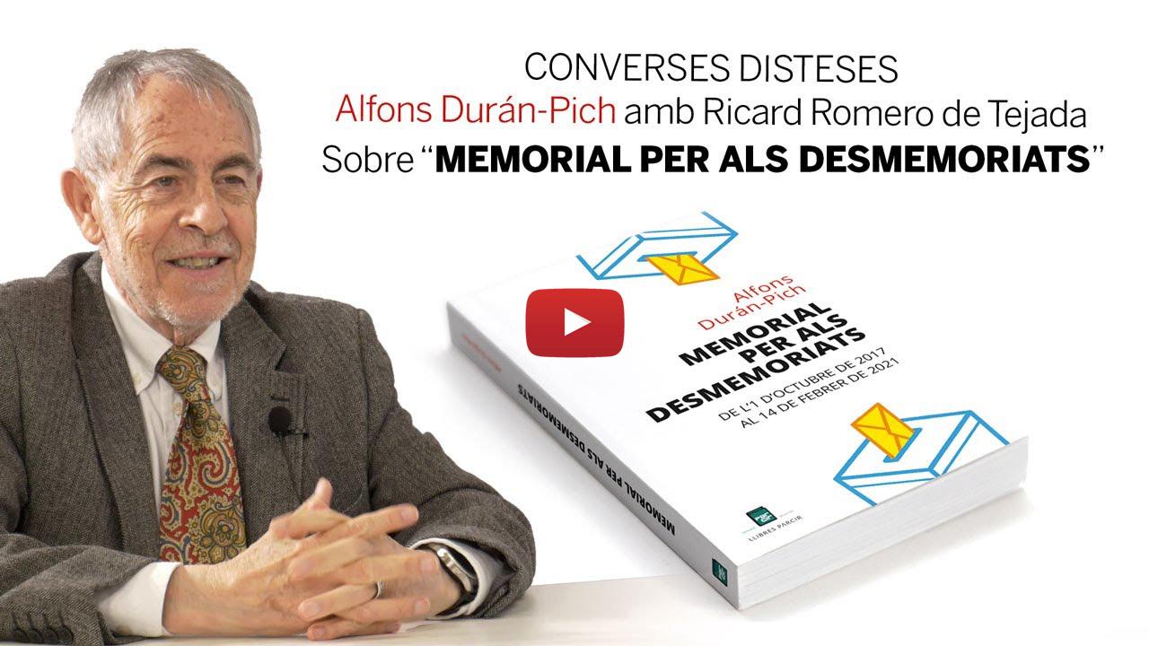 CONVERSES DISTESES Alfons Durán-Pich amb Ricard Romero de Tejada